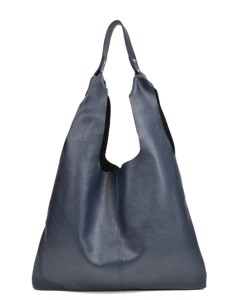 Hobo Bag Blu Scuro