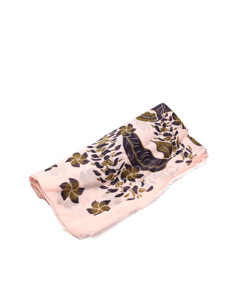 Louis Vuitton Printed Cotton Scarf Pink