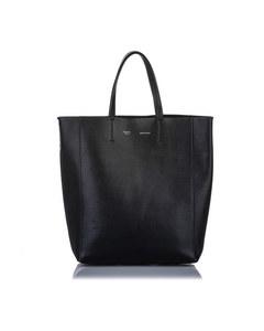 Celine Small Vertical Cabas Leather Tote Bag Black