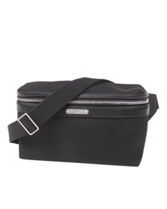 Ysl Nylon Belt Bag Black
