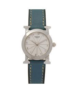 Hermes H Rondo Watch Hr1.210 Silver