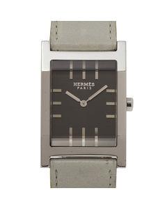 Hermes Tandem Watch Ta1.710 Silver