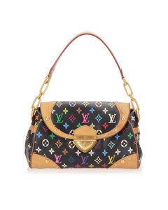 Louis Vuitton Monogram Multicolore Beverly Mm Black