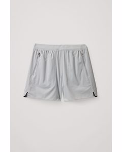 Technical Running Shorts White