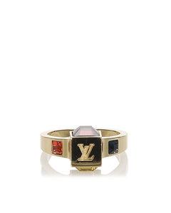 Louis Vuitton Gamble Ring Gold