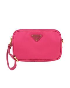 Prada Tessuto Crossbody Bag Pink
