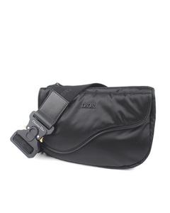 Dior Saddle Nylon Belt Bag Black