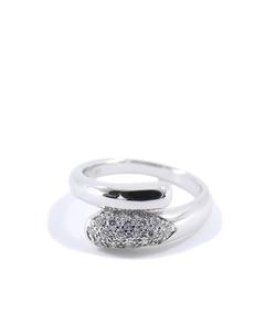 Bvlgari 18k Astrea Ring Silver