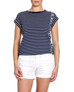 Lauren Ralph Lauren Top Separate Navy Stripe