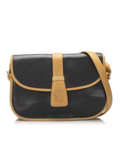 Celine Leather Crossbody Bag Blue