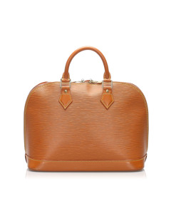 Louis Vuitton Epi Alma Pm Brown