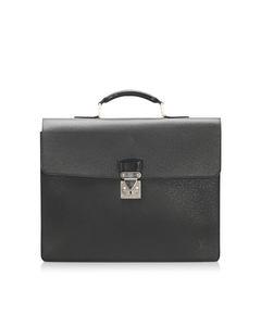 Louis Vuitton Taiga Moskova Briefcase Gray