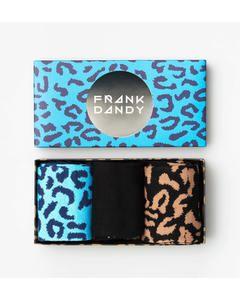 3-pack Sock Box  Blue Black Gladuar