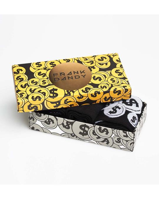 Frank Dandy 3-pack Sock Box  Black