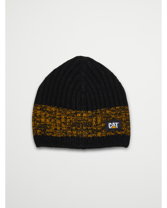 Caterpillar Squall Knit Cap Black