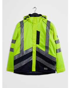 Hi Vis Wp Jacket Hi Vis Yellow-navy
