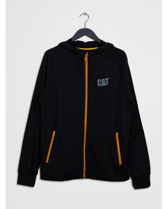 Contour Zip Sweatshirt Black