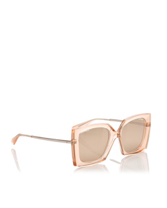 Chanel Square Tinted Sunglasses Brown