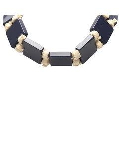Prada Tie Necklace Blue