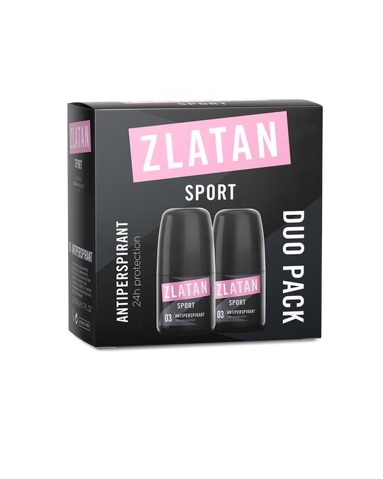Zlatan Ibrahimović Parfums Zlatan Sport Pour Femme Duopack Deoroll