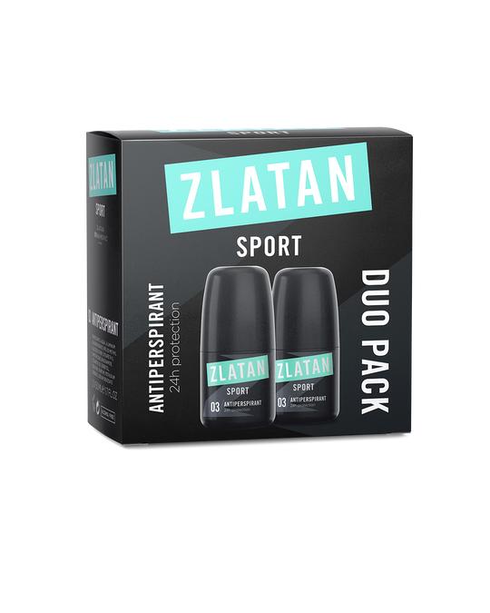 Zlatan Ibrahimović Parfums Zlatan Sport Duopack Deoroll Homme