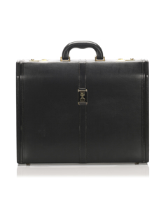 Burberry Leather Business Bag Black