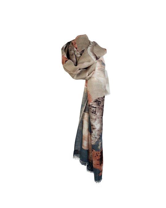 Other Beck Sonder Gaard Silk And Wool Large Scarf Pashmina