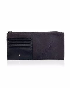 Montblanc Black Canvas Plånbok Modell: Document Holder