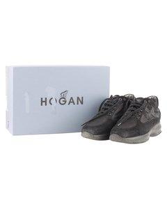Hogan Black Suede Sneakers Modell: Sneakers