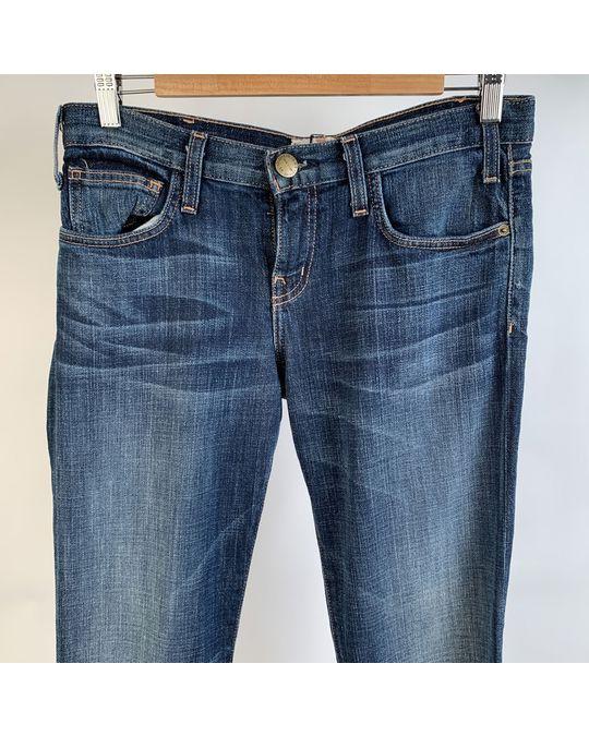 Other Current/elliot Blue Denim Cotton The Rolles Jeans Trousers Size 26