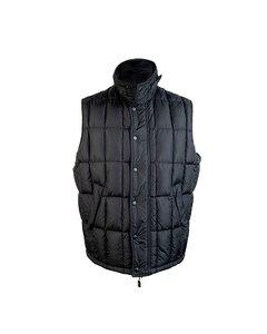 Alberto Aspesi Black Men Sleeveless Jacket Padded Down Vest Size Xl