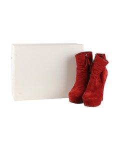 Max Bianco Platform Ankle Boots Size 38