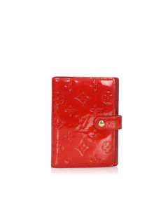 Louis Vuitton Vernis Agenda Pm Red