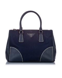 Prada Tessuto Galleria Satchel Blue