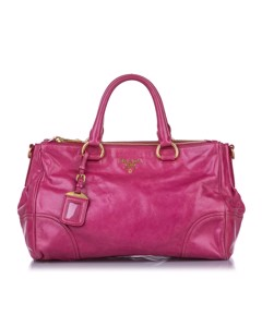 Prada Leather Satchel Pink