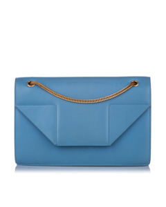 Ysl Medium Betty Leather Shoulder Bag Blue