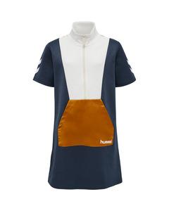 Emol Dress Short Sleeve Navy
