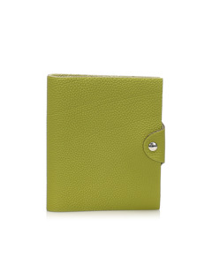 Hermes Ulysse Mm Agenda Cover Green
