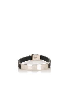 Gucci Leather Bracelet Black