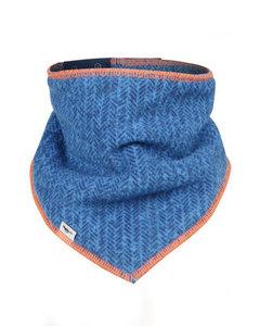 Fleece Scarf Blue/orange