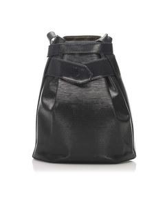 Louis Vuitton Epi Sac Depaule Black