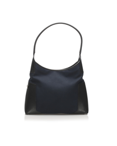 Ferragamo Nylon Shoulder Bag Black
