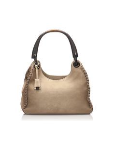 Gucci Leather Handbag Brown