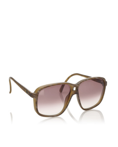 Dior Square Tinted Sunglasses Brown