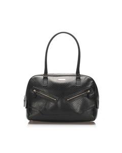 Gucci Microguccissima Handbag Black