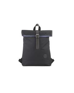 Fold Top Backpack Black