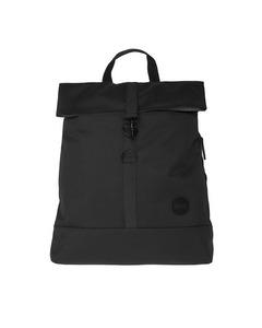 City Fold Top Backpack Black
