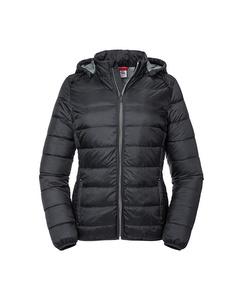Russell Womens/ladies Hooded Nano Padded Jacket