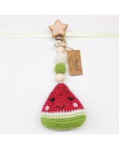 Watermelon Stroller Hanger (star Clips)