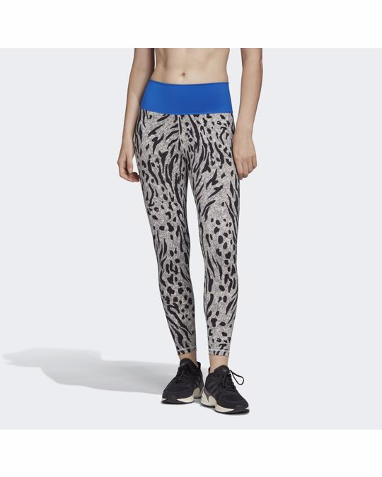 ADIDAS Believe This 2.0 Iterations High-rise 7/8 Leggings
